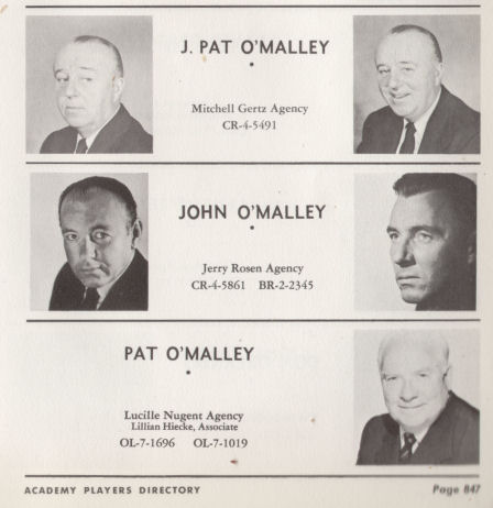 Original Mickey Mouse Club Serials: J. Pat O'Malley