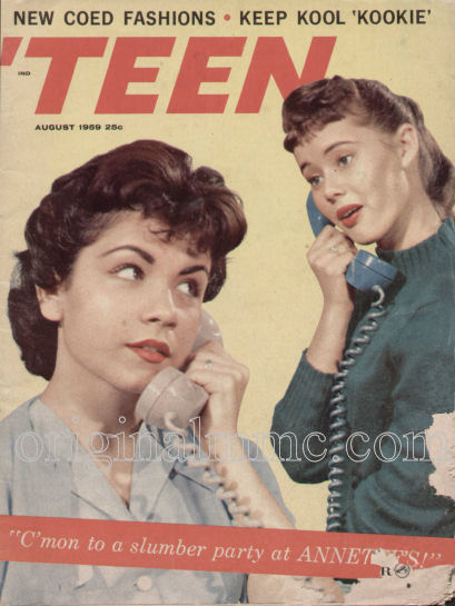 Annette was approaching her zenith of popularity, and would soon have a ...